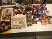 30pc Vintage Nascar Lot Diecast Cars Framed Photo Newspapers Steins Figurines
