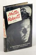 Thomas Heggen Signed First Edition 1948 Mister Roberts A Play Hardcover W/dj