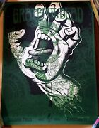 The Grateful Dead Field Maiden Screaming Hand Fare Thee Well Test Poster 1/1
