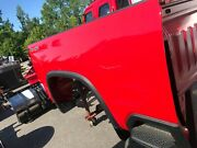 2019 Red Chevy Pick-up Bed