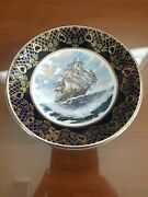 Royal Falcon Ware Weatherby Hanley Ship Dish 4-69 Made In England