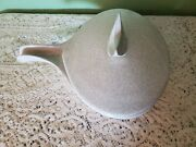 Mid Century Modern Glidden Pottery Handled Covered Pan Stoneware Serving 461 C
