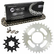 Sprocket Chain Set For Yamaha Grizzly 125 Breeze 125 12/32 Tooth 520 Rear Front