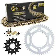Sprocket Chain Set For Yamaha Yzf-r3 Mt-03 14/43 Tooth 520 X-ring Front Rear