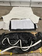 New 1967 Vinyl Ford Mustang Convertible Top - White