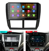 Android 9.1 Car Stereo Radio Head Unit 9and039and039 Hd Gps For Subaru Forester 2008-2012