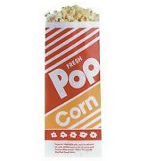 1,000 Popcorn Bags Small Serving 1.0 Oz 1000 Ct 3.5 X 2.25 X 8 Gold Medal
