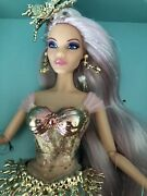 Barbie Mermaid Enchantress Doll With Coral Sea Shell Head Piece Earrings And Belt