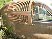 Vintage Tractor Grille Shell 1940's 1950's Front Grill Original Oem