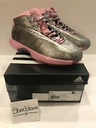 Adidas Crazy 1 John Wall Cherry Blossoms Signed Compound Release Party 10.5 Bnib