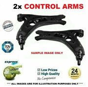 2x Front Control Arms For Seat Exeo St 2.0 Tdi 2009-on