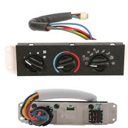 Hvac A/c Heater Control With Blower Motor Switch For Jeep Wrangler Tj 1999-2004