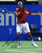 Andreas Seppi Signed Tennis 8x10 Photo W/certificate Autographed A0002