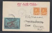 Canada 1927 Patricia Airways Semi-official Airmail Cover To Haileybury Rouyn