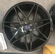 22and039and039 Giovanna Parma Gloss Black With Tires Bmw 550 645 750 X5 X6 Model S Ls460