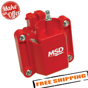 Msd Ignition 8226 Gm Dual Connection Ignition Coil, Red