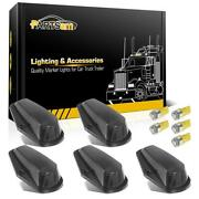5pcs Cab Roof Top Black Lights+5050 Yellow 168 Led For Ford F-150 80-97