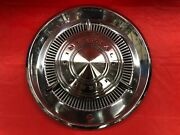"""Vintage 1960 Chrysler Imperial 15"""" Hubcap With Spinners Good Condition"""