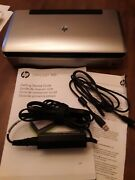 Hp Officejet 100 Mobile Wireless Bluetooth Printer Printed Approx 6 Pgs / In Box