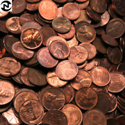 500 Au-bu Lincoln Wheat Penny Lot // Mixed 1930and039s-1950and039s // 10 Rolls + Bonus