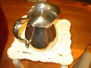 Solid, Heavy Reed And Barton Silver Plate Pitcher / Jug