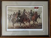 Don Stivers Tracking Victorio 10th Cav Limited Edition Print 173/500 Framed