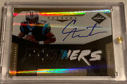 2011 Cam Newton Panini Limited Rookie Rc Phenoms 3 Clr Patch Auto Gold Sp 04/10