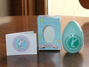 New 2011 White House Easter Egg Pastel Green Wooden Egg - New With Box