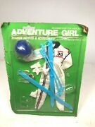 M And S Shillman Adventure Girl Farrah Fawcett Type Vintage Doll Outfit Set