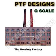 G Scale Scratch Built Hershey Factory Building Flat W/led Front -indoor Piko