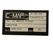 C-map M-na-b703.01 C-card Los Angeles To Point Conception