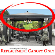 Tiverton Gazebo Replacement Canopy / High-grade Replacement Canopy Only