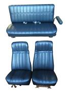 Chevy Blazer Seat Upholstery For High Back Front Buckets And Rear 1977-1987