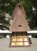 Mission Arts And Crafts Electric Wall Sconce Porch Lamp Exc Cottage Shade