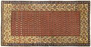 Antique Decorative Traditional Oriental Rug In Small Size W/ Free Shipping