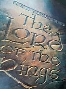 The Lord Of The Rings - Ralph Bakshi 1978 22 X 30 Us Movie Poster
