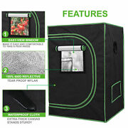 Hydroponic Grow Tent Reflective Mylar 100 Non Toxic Indoor Room With Window