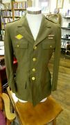 Wwii 24th Infantry Uniform Taro Leaf Ruptured Duck Patch Eagle In Circle 38s