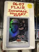 2006-07 Flair High End Condition Hockey Cards Set