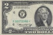 F00272986awesome Low Serial Number Star Note Super Collectable They Go Fast