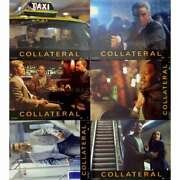 Collateral Original Lobby Cards X6 - 9x12 In. - 2004 - Michael Mann, Tom Cruise