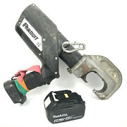 Panduit Ct-2931 Series Crimp Tool 12.1 Ton Cordless Compression W/ Battery Works
