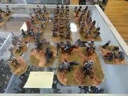 25mm Metal Dixon Painted American Civil War Confederate Soldiers