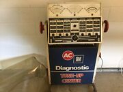 Vintage Ac Delco Diagnostic Tune Up Center Gas Station Man Cave Garage S/w Minn