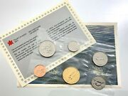 1988 Canada Proof Like Uncirculated Canadian Coin Set With Card R029