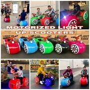 6 Cyglo Light Up Rides Business Pkg Mall Rides By Giddy Up Rides - Incl Ship