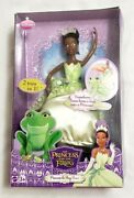 Mattel 2009 Disney The Princess Tiana And The Frog African American Doll New
