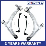 4x Front Lower Control Arms Ball Joints Fit For Nissan 02-06 Altima 04-08 Maxima
