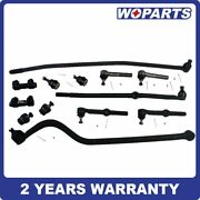 13x Inner Outer Tie Rod Bar Ball Joint Kit Fit For Dodge Ram 1500 2500 4wd 94-97