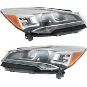 Hid Headlight Lamp Left-and-right Hid/xenon Fo2503311, Fo2502311 Lh And Rh